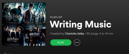 writing playlists